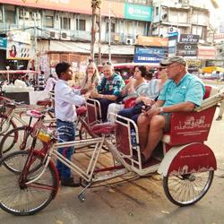 Rickshaw Tour